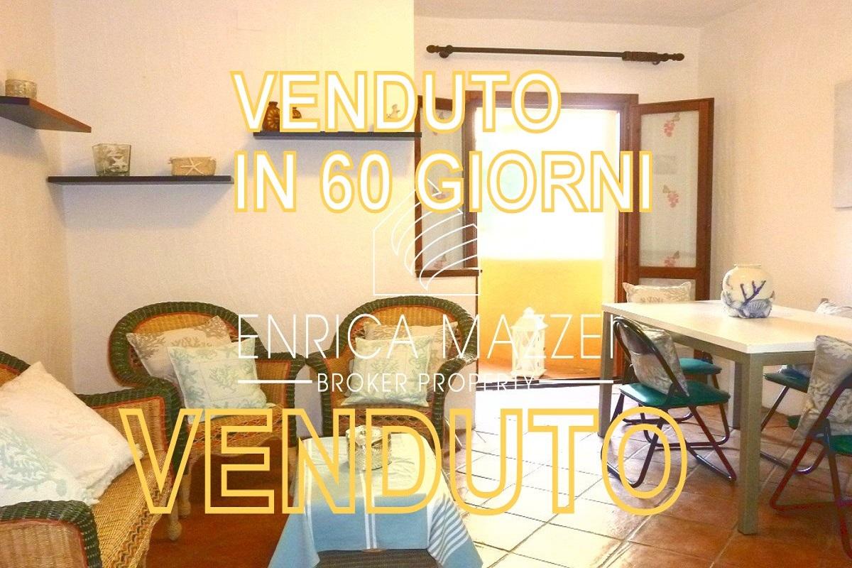 VENDUTO Costa Smeralda Liscia di Vacca| delizioso bilocale veranda arredato