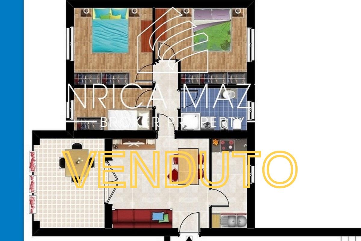 VENDUTO Loiri | luminoso quadrilocale  ampia veranda e posto auto coperto
