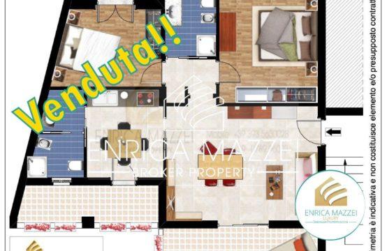 VENDUTO |Olbia spazioso appartamento cucina separata