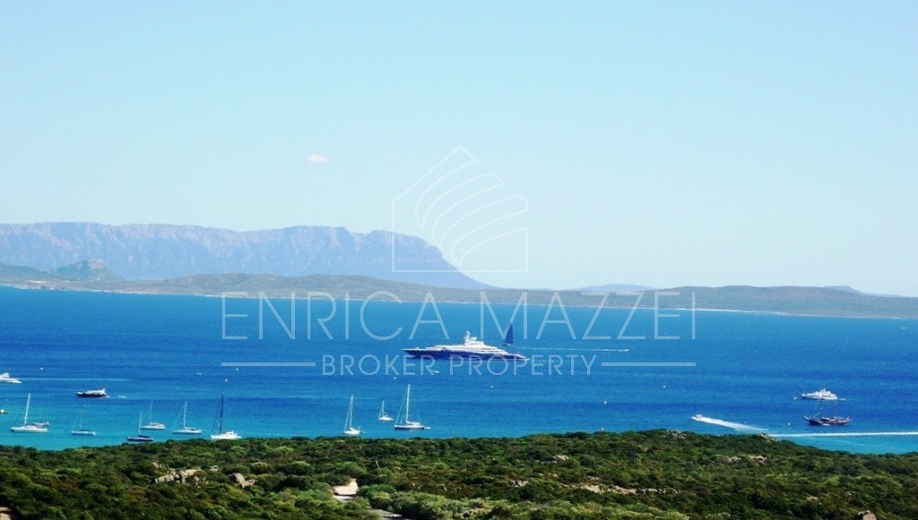 Costa Smeralda casa vacanza | vista mare giardino veranda